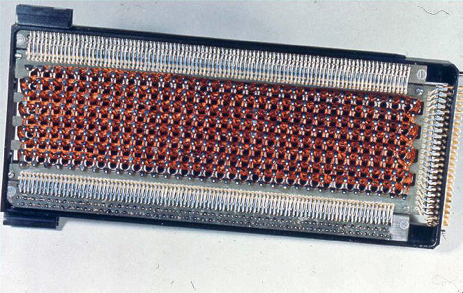 Core rope memory aus dem Apollo Guidance Computer